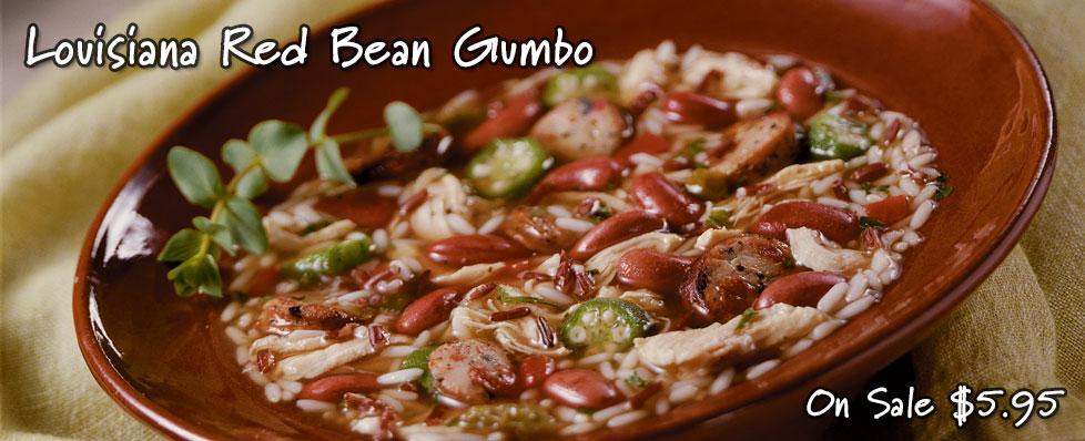 Louisiana Red Bean Gumbo