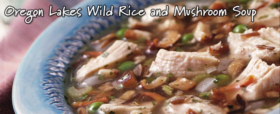 Oregon Lakes Wild Rice and Mushroom Soup