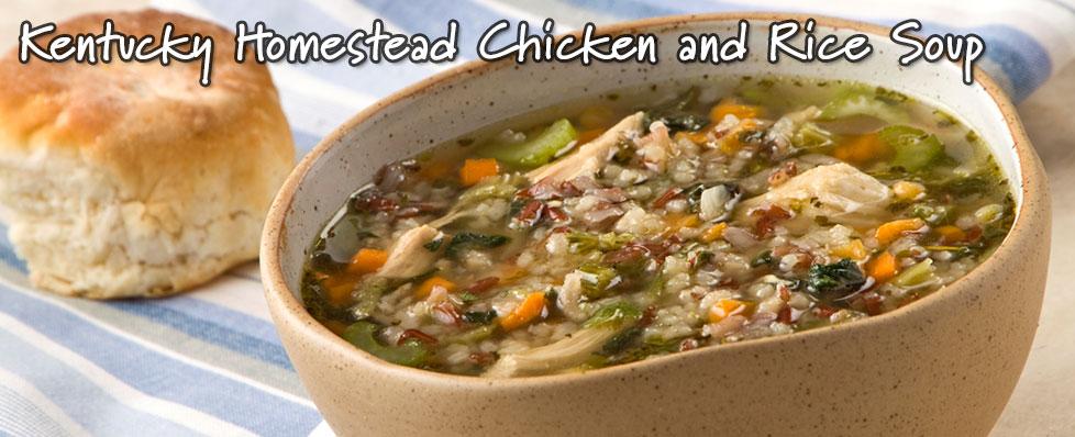 Kentucky Homestead Chicken & Rice Soup
