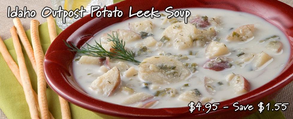 Idaho Outpost Potato Leek Soup