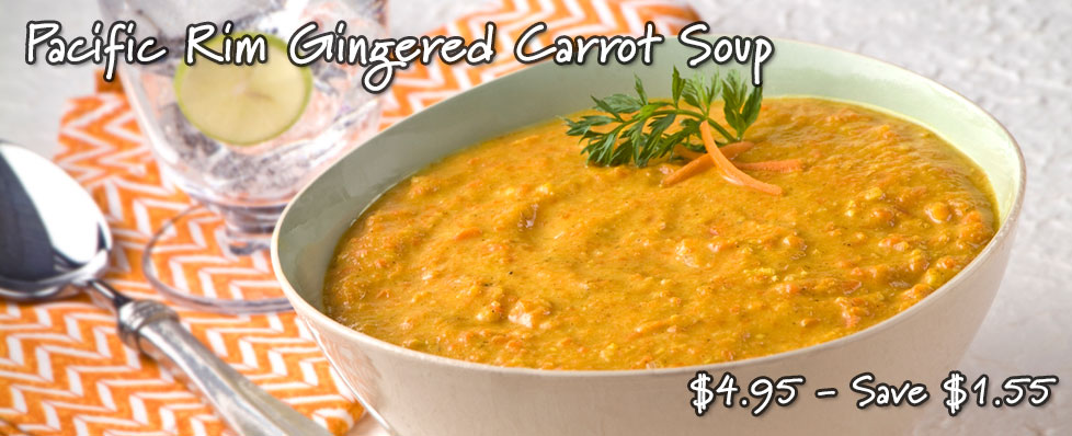Pacific Rim Gingered Carrot Soup