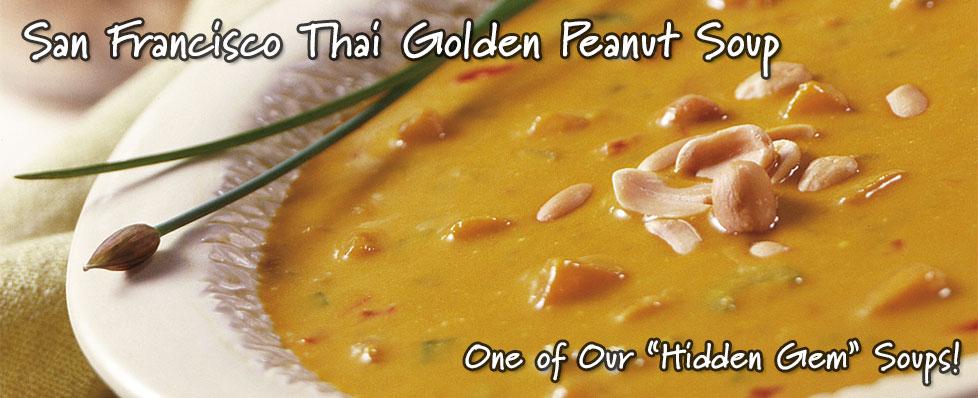 San Francisco Thai Golden Peanut Soup