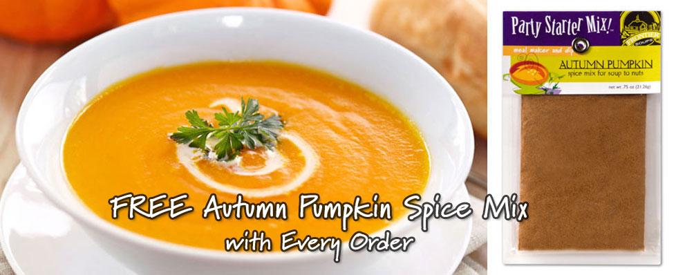 Autumn Pumpkin Soup Spice Mix