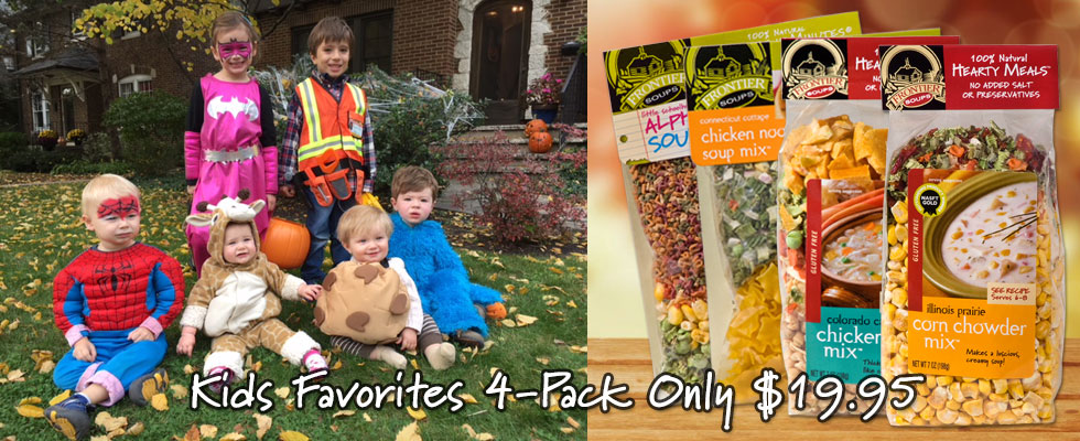 Kid Favorites Soup 4-Pack Only $19.95