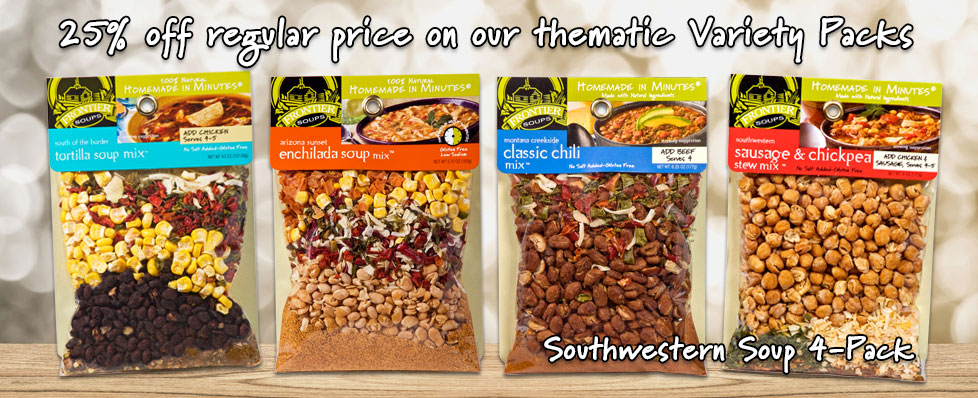 25% off regular price on our thematic Variety Packs