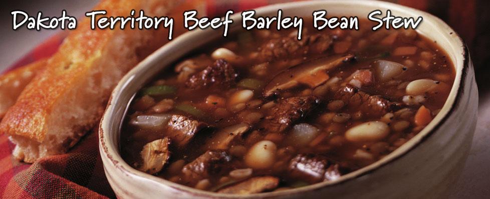 Dakota Territory Beef Barley Bean Stew