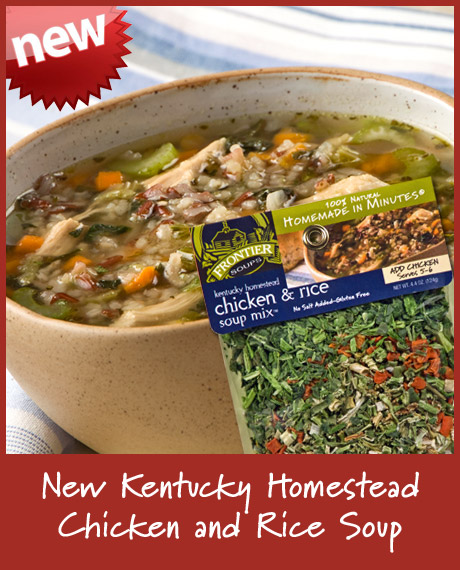 Kentucky Homestead Chicken and Rice Soup