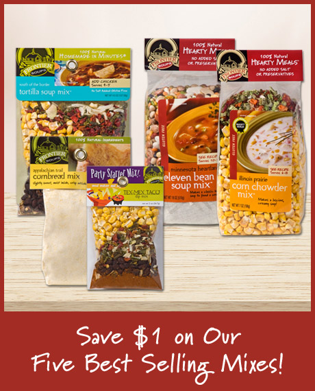 $1 Off Best Selling Mixes
