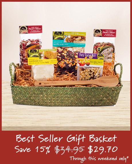 Best Seller Soup Gift Basket