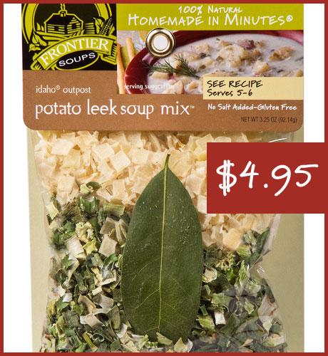 Idaho Outpost Potato Leek Soup Mix