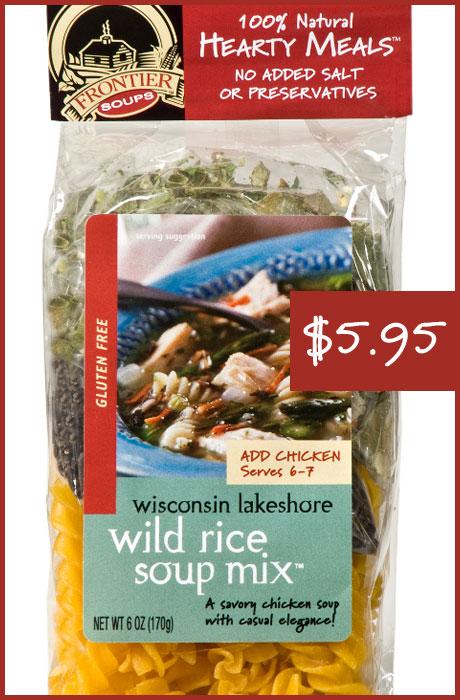 Wisconsin Lakeshore Wild Rice Soup Mix