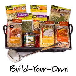 Build Your Own Soup Gift Basket