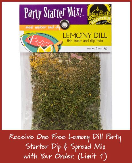 Lemony Dill Dip Mix and Fish Bake