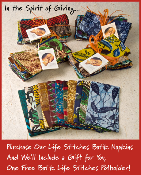 LifeStitch Napkins