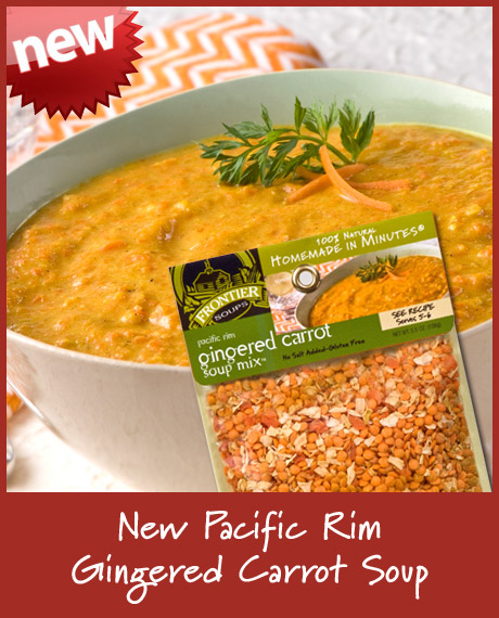 Pacific Rim Gingered Carrot Soup Mix