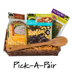 Pick A Pair Soup Gift Basket
