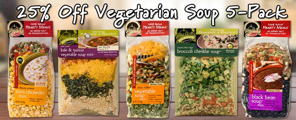 Vegetarian Soup 5-Pack