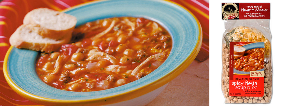 Fiesta Bean Soup Recipes — Dishmaps
