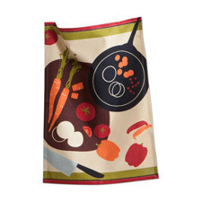 Sauteed Vegetables Dish Towel