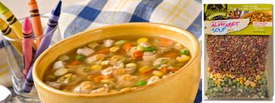 Little Schoolhouse Alphabet Soup