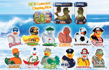 Order the complete 2nd New Wave of Rubba Ducks in their NEW Collector Display Boxes