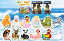 Order the complete 3rd New Wave of Rubba Ducks in their NEW Collector Display Boxes