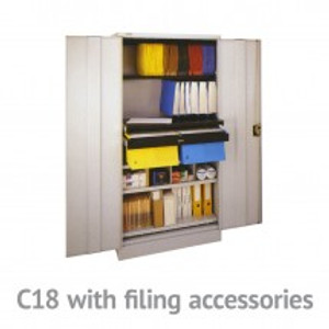 2 Door Storage Cabinets from