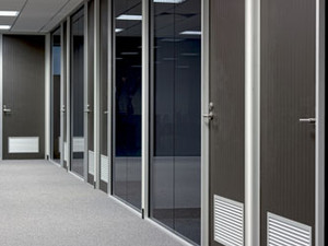 Aluminium Partition Systems - POA