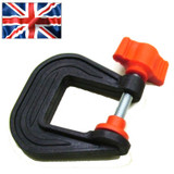 25mm Mini G Clamp (Plastic) British Made