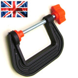 50mm Mini G Clamp (Plastic) British Made