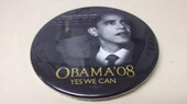 Obama '08  - Kennedy button