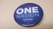One Nation Obama'08 Button
