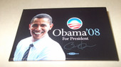 Obama For President '08  rectangle  Button