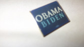 Lapel Pin -  Obama - Biden pin