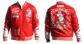 Jacket -  Kappa Alpha Psi  PU Leather Jacket