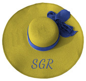 GOLD  SIGMA GAMMA RHO  FLOPPY HAT