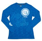 ZPB  Royal   Long Sleeve T shirt