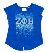 BB - ZPB  Royal Female Rhinestone T shirt