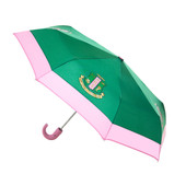 AKA  Pink/Green Mini Auto up/down Umbrella