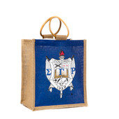 Bag - Sigma Gamma Rho  Mini Jute Bag w/ Shield