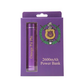 Power Bank - Omega Psi  Phi
