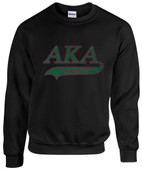 AA -  AKA Sorority  Rhinestone Sweat Shirt