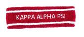 HEADBAND:  Kappa Alpha Psi   Terry  Headbands
