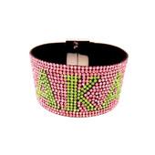 BRACELET:   AKA  Pink Bling Bracelet  With Magnetic Closure