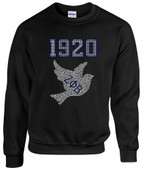 ZPB 1920 Rhinestone Sweat Shirt