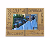 Inspirational Graduation Photo Frame
