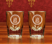 Boxed Sets- A set of 2 Crystal Shot Glasses