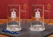 Glass Mugs- A set of 2 ( 17.5oz ) Maxim Mugs