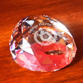 Paperweights- Gem Cut Faceted Paperweight