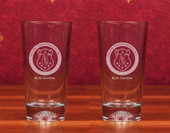 Boxed Sets- A set of 2 (14 oz ) Golf Ball Glasses